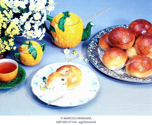 Table, Breakfast, Potato Bread, Breads