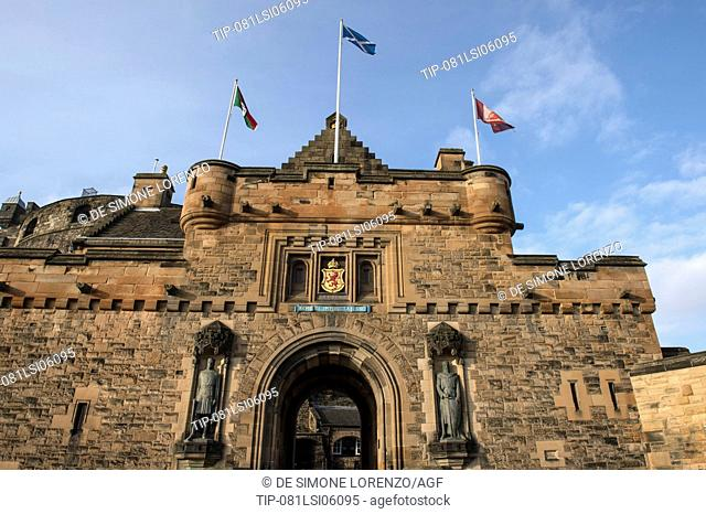 UNITED KINGDOM, SCOTLAND, EDINBURGH, EDINBURGH CASTLE