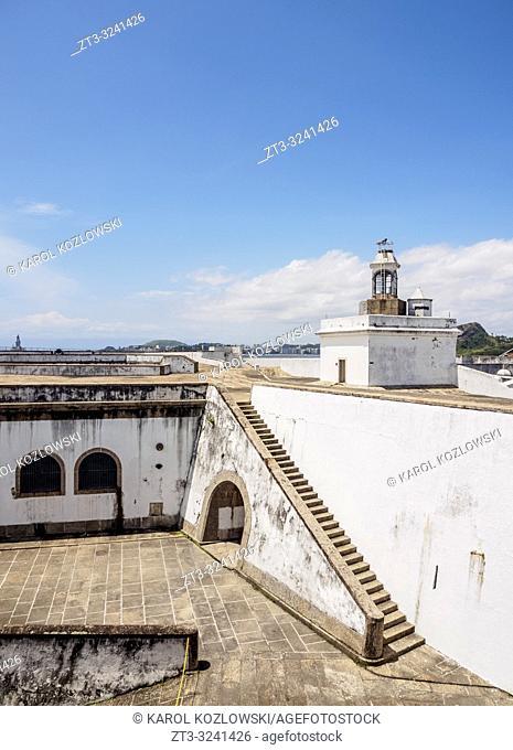 Santa Cruz da Barra Fort, Niteroi, State of Rio de Janeiro, Brazil