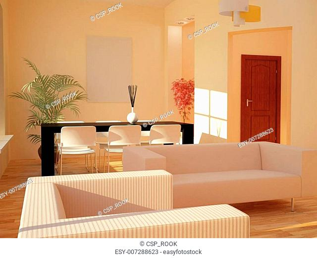 Interior set two hundred fourteen