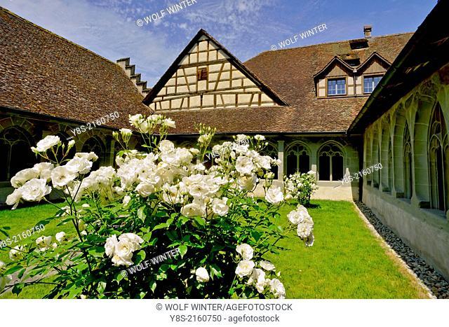 St. Georgen Monastery, Stein am Rhein, Canton Schaffhausen, Swiitzerland