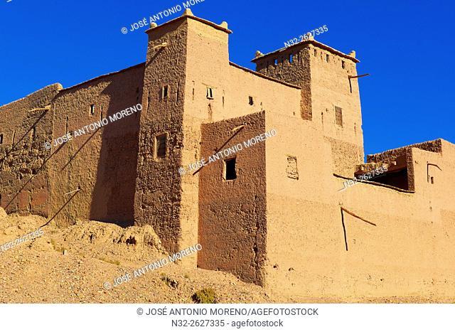 Old Kasbah, Skoura, Ouarzazate Region, Morocco, Africa