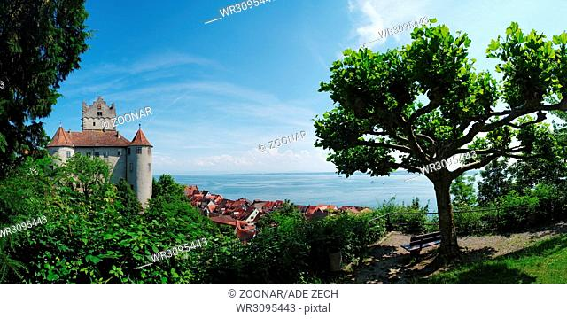 Panoramic view of Meersburg