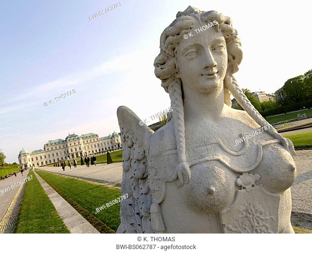 Vienna, Upper Belvedere castle, Austria, Vienna, 3. district, Vienna - Belvedere