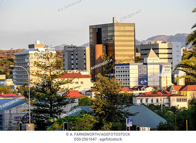 Downtown, Windhoek, Namibia