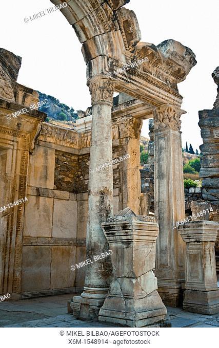 Temple of Hadrian  Ruins of Ephesus  Izmir province  Anatolia, Turkey
