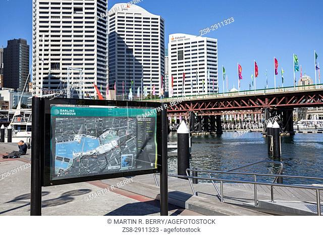 Darling Harbour and Cockle Bay Wharf,Sydney,Australia