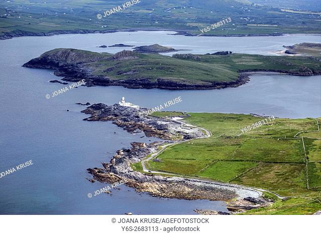 Valentia Island, Cromwell Point, Skellig Ring, Kerry, Ireland, Europe