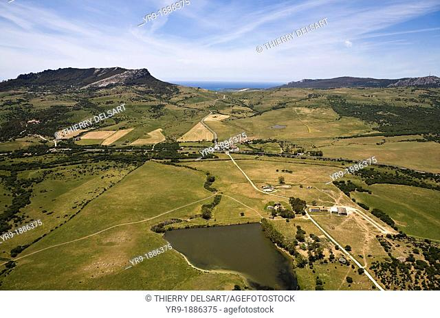 Betis Hill, Bolonia on its right. Cádiz area. Spain