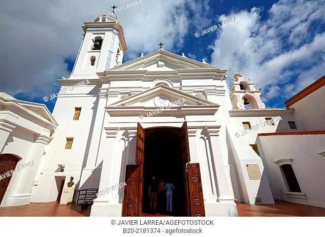 Basilica Nuestra Señora del Pilar. La Recoleta. Buenos Aires. Argentina