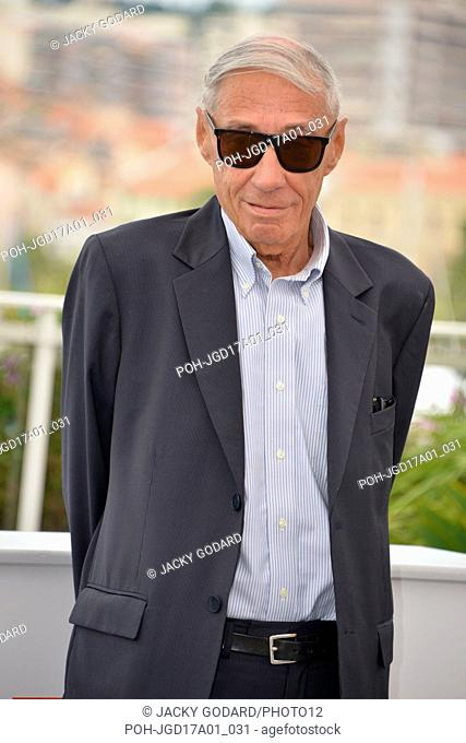 André Téchiné Photocall of the film 'Nos années folles' 70th Cannes Film Festival May 22, 2017 Photo Jacky Godard