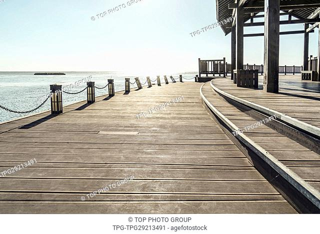 wooden trestle