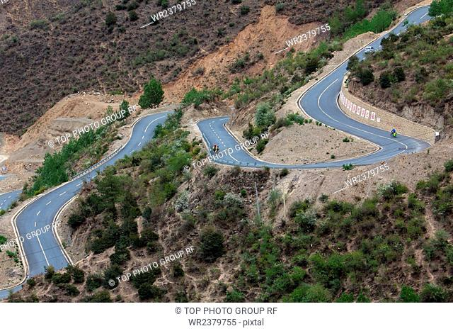 Tibet Sichuan highway