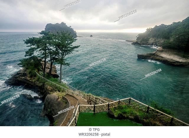 seascape of Umibe no Kakureyu Seiryu