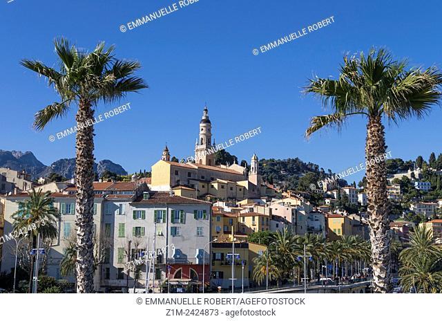 Menton, French Riviera, Alpes Maritimes, Provence Cote d'Azur, France, Europe