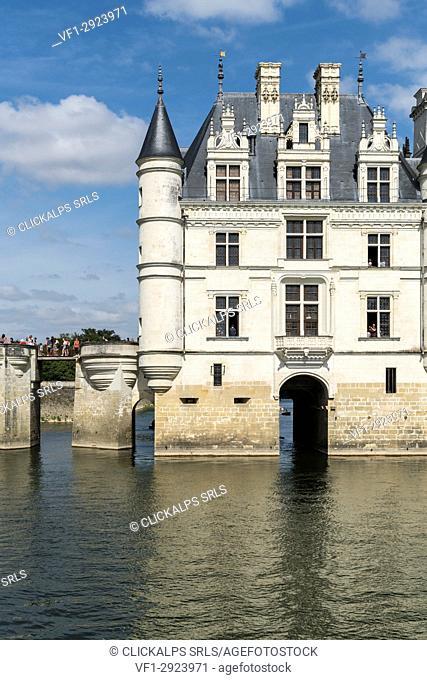 Chenonceau castle. Chenonceaux, Indre-et-Loire, France