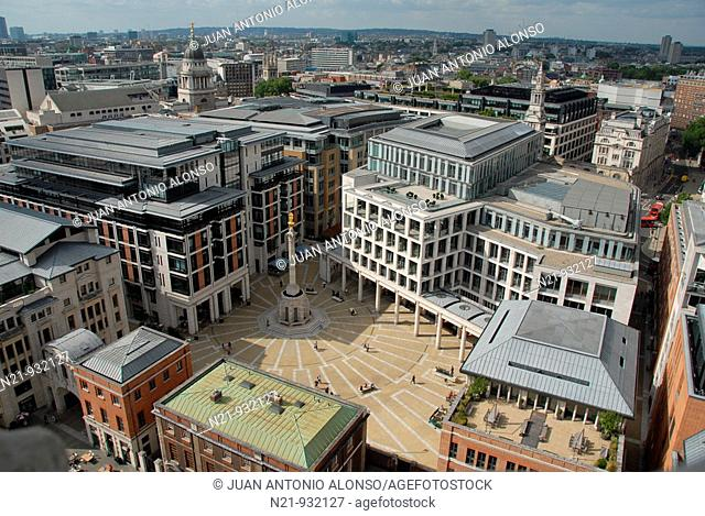 Paternoster Square. London, Great Britain, Europe