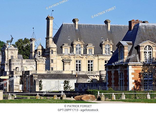 CHATEAU D'ANET, BUILT IN 1550 BY PHILIBERT DE L'ORME FOR DIANE DE POITIERS, HENRI II'S FAVOURITE, EURE-ET-LOIR 28, FRANCE