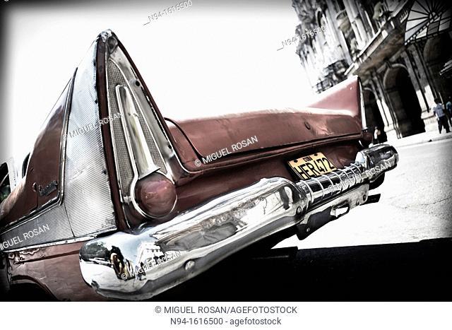 Old car, Havana. Cuba