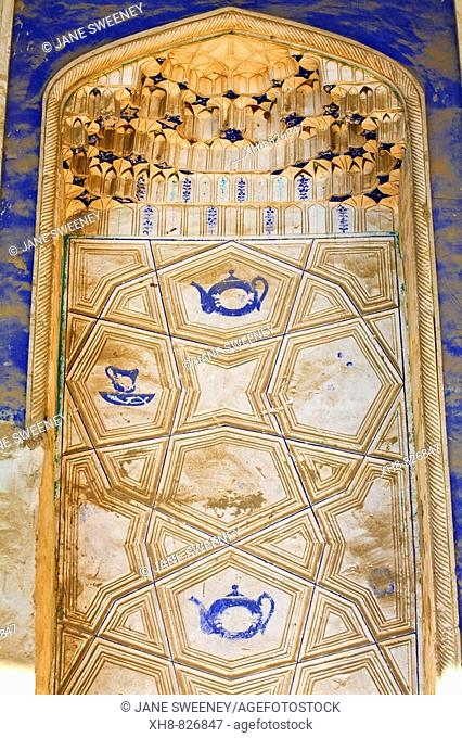 Old traditinal mechants' house interior, Bukhara, Uzbekistan