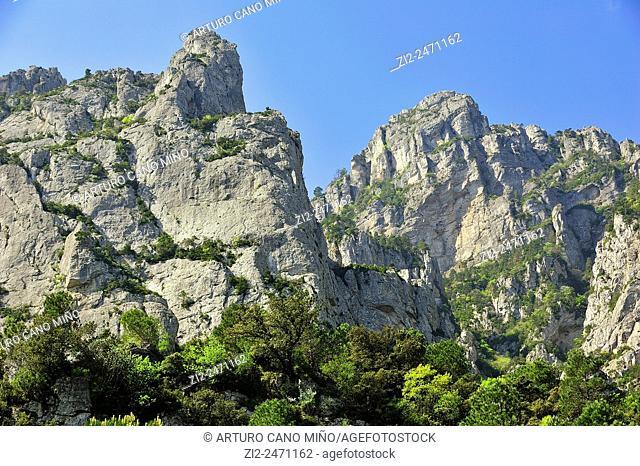 Ports de Tortosa-Beseit Natural Park. Tortosa, Tarragona, Spain