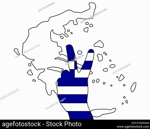 Griechenland Handzeichen