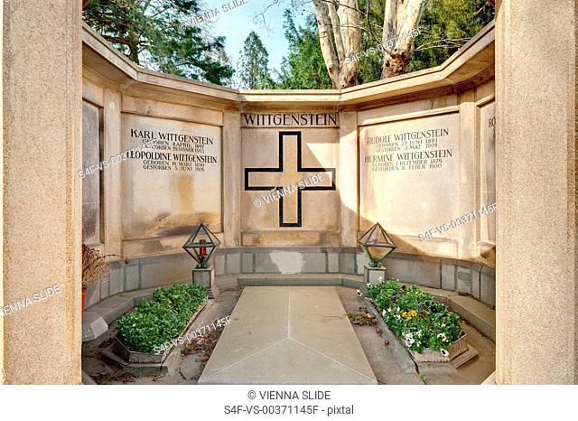 Österreich, Wien, Zentralfriedhof, Gruft der Familie Wittgenstein