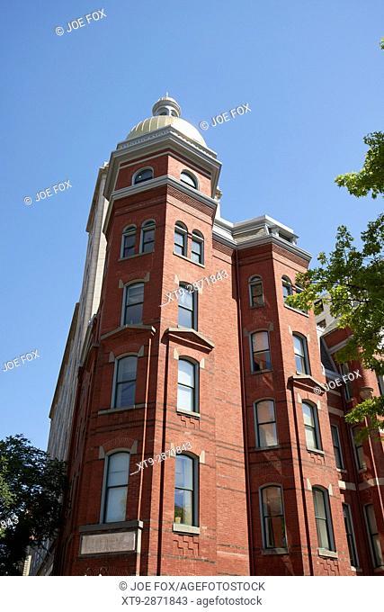 fireman's insurance company building Washington DC USA