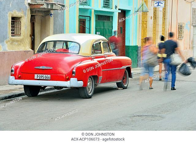 Street photography in central Havana