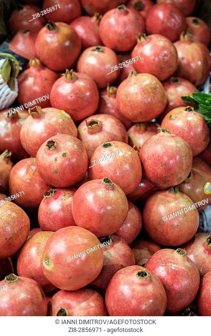 Pomegranates, Punica granatum