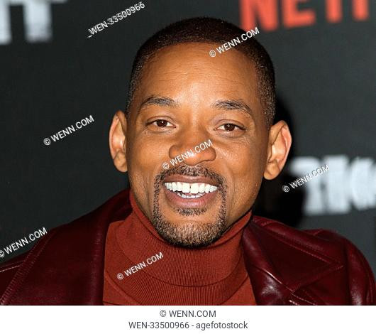 Bright - UK film premiere at the BFI Southbank, Belvedere Road, London Featuring: Will Smith Where: London, United Kingdom When: 15 Dec 2017 Credit: WENN