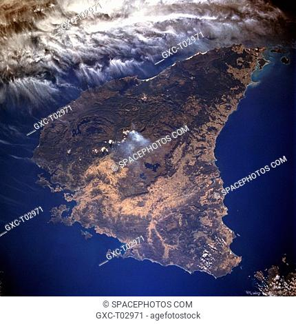 Separated from the mainland of Australia by the Bass Strait, the island state of Tasmania lies about 150 miles 240 km south of Victoria