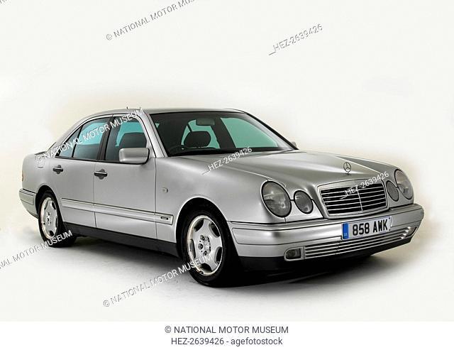 1998 Mercedes Benz E240 Artist: Unknown
