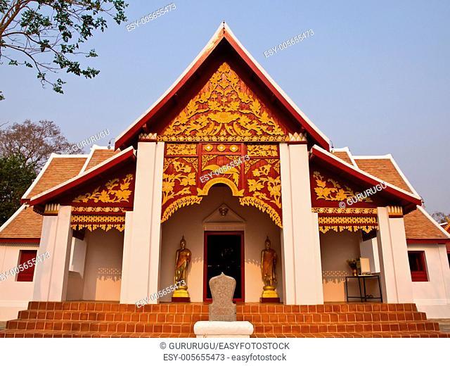 Buddhist Monastry, wat Phra that kao noi, Nan Thailand