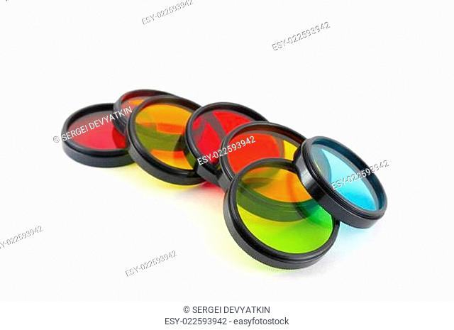 Color filters and old lens