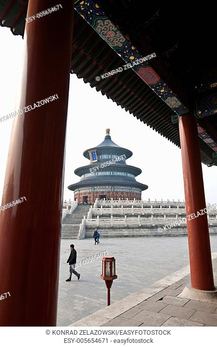 Hall of Prayer for Good Harvests in The Temple of Heaven (Altar of Heaven) in Beijing, China