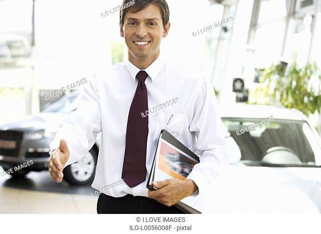 A car salesman