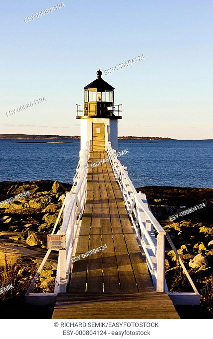 Marshall Point Lighthouse, Maine, USA