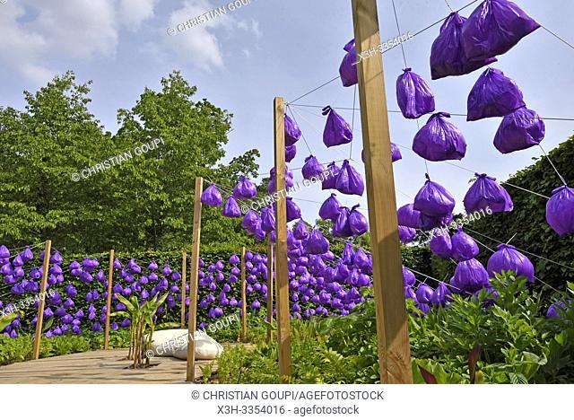 """""""""""""""""""""""Jardin eternel"""""""", installation par Claire et Marie Bigot, Jardins de Paradis, Domaine de Chaumont-sur-Loire, departement Loir-et-Cher"""