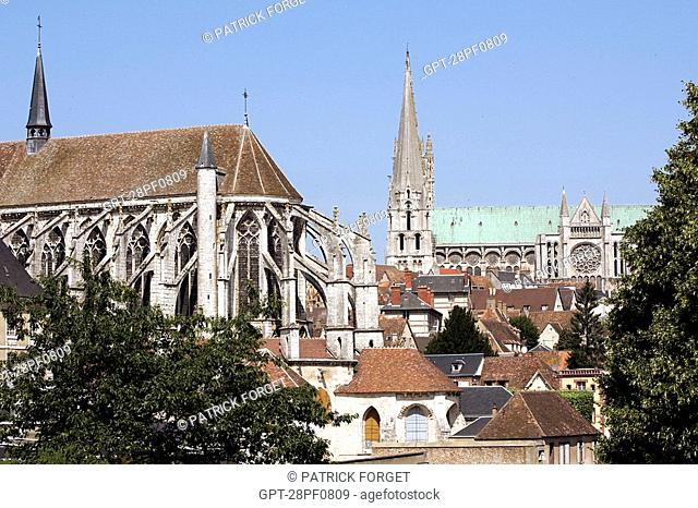 CHARTRES CATHEDRAL AND THE SAINT-ANDRE COLLEGIATE CHURCH, EURE-ET-LOIR 28, FRANCE