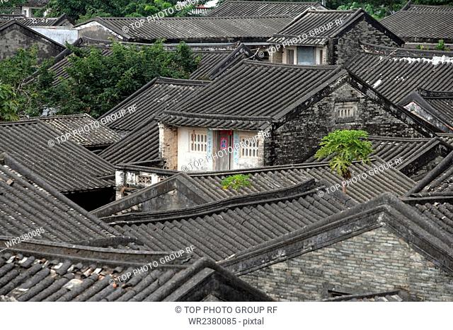 China Hainan province Sansha City Yacheng ancient dwellings