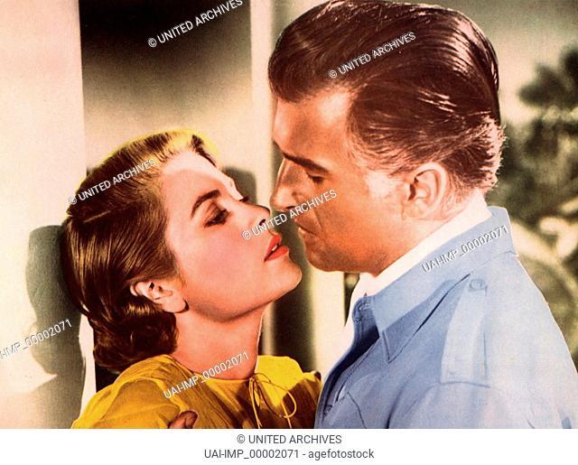 Grünes Feuer, (GREEN FIRE) USA 1955, Regie: Andrew Marton, GRACE KELLY, STEWART GRANGER, Stichwort: Paar