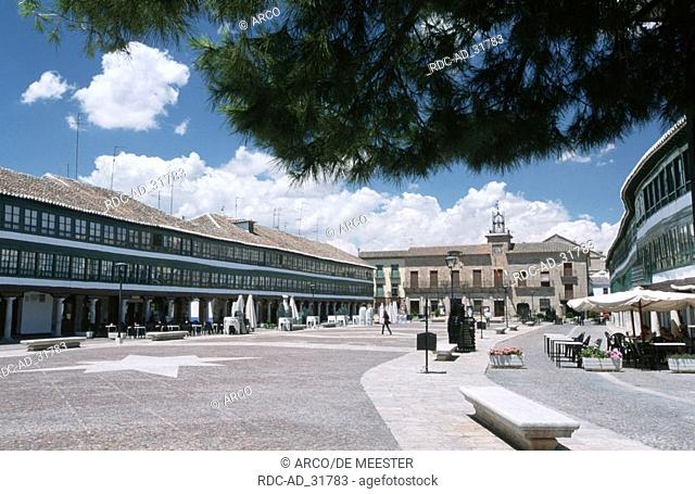 Plazza Real Almagro La Mancha Spain