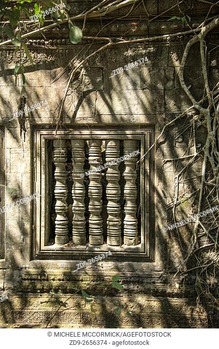 The temple at Beng Mealea survives despite the challenges of time and nature