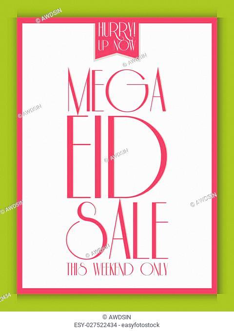 Creative Mega Eid Sale Flyer