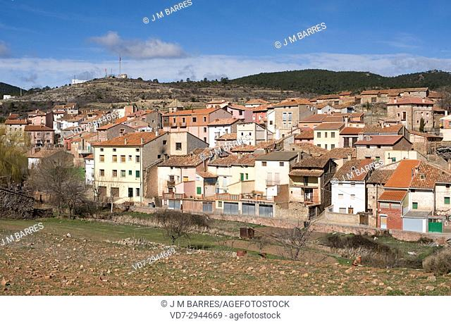 Bezas, Sierra de Albarracin region, Teruel province, Aragon, Spain