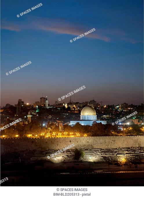 Jerusalem And The Dome Of The Rock