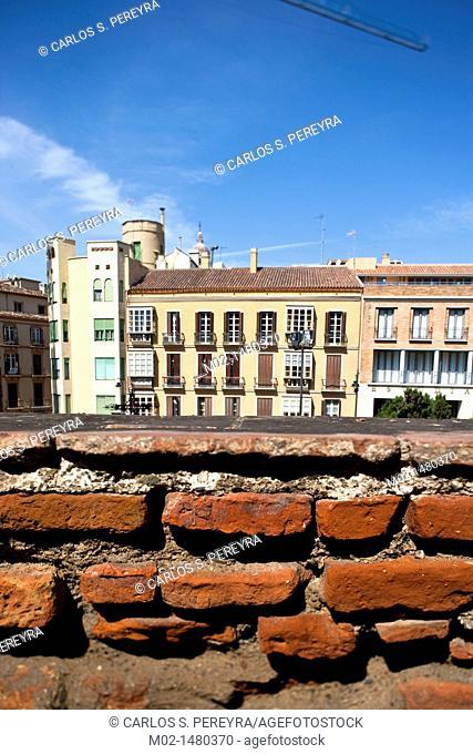 Buildings in Malaga, Andalucia