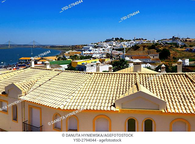 Guadiana river is natural Spanish-Portuguese border, in its mouth river passes two border cities - Ayamonte on Spanish side and Vila Real de Santo António on...