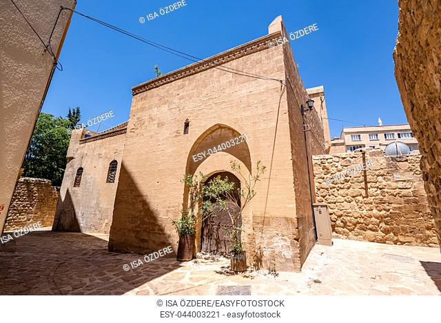 Exterior view of Mor Yusuf (Surp Hovsep;St Joseph) Church which locates in Mardin,Turkey. 18 June 2018